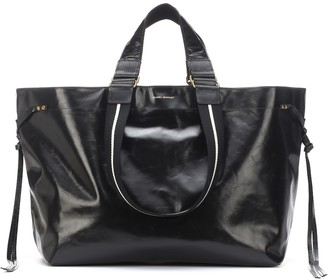 Isabel Marant Wardy Large leather shopper