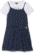 Tommy Hilfiger Girl's Ditsy Floral 2 in 1 Slvls Dress