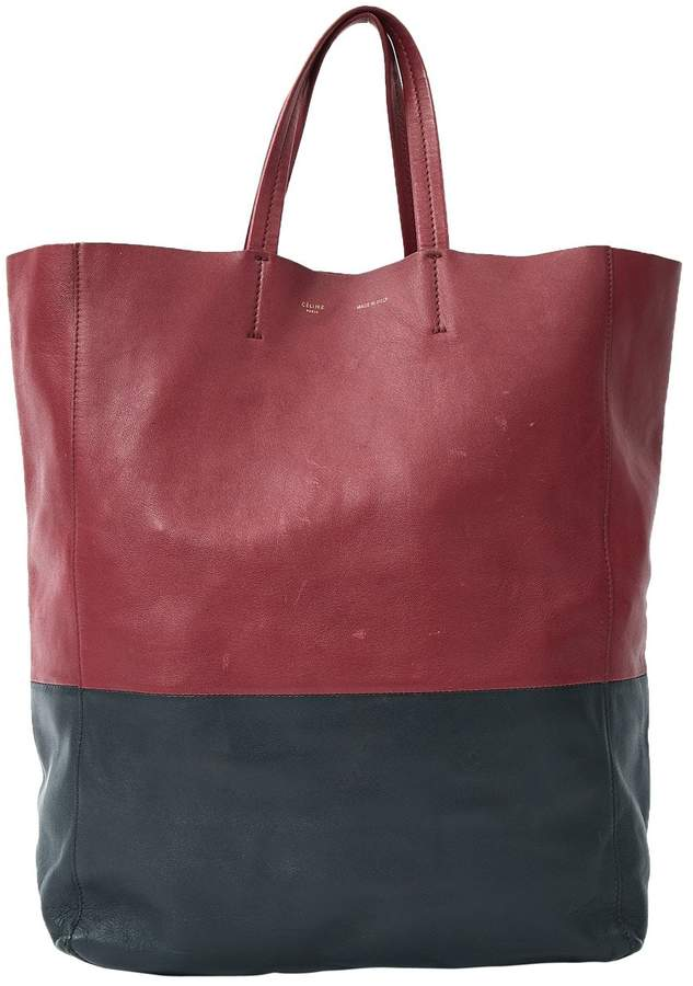 Celine Leather tote