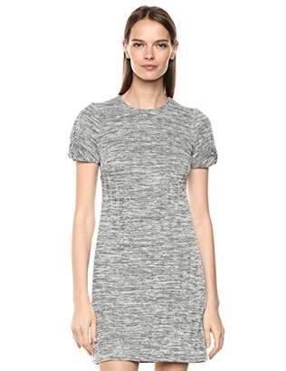 Calvin Klein Women's Short Sleeve Sheath with Knot Detail Dress