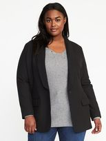 Old Navy Long-Line Plus-Size Blazer