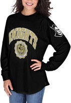 Unbranded Women's Pressbox Black UCF Knights Edith Long Sleeve Oversized Top