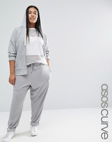 Asos Casual Track Pant In Soft Jersey