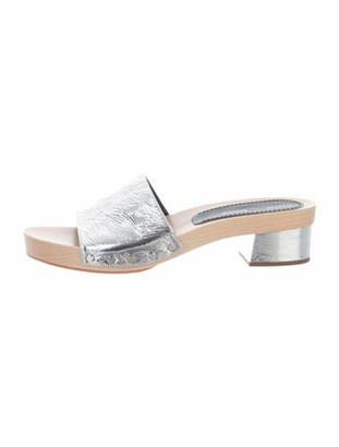 Proenza Schouler Metallic Slide Sandals Metallic