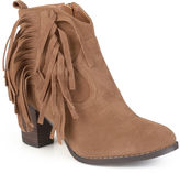 Journee Collection Spin Womens Booties