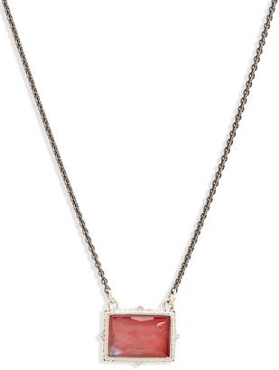 Armenta New World Stone Pendant Necklace