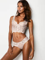 Dream Angels Lace Hook-and-eye Long Line Bra