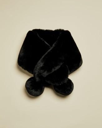 Ted Baker Faux Fur Pom Snood