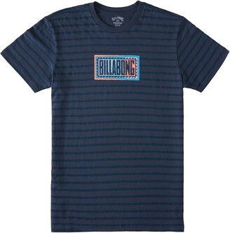 Billabong Line Up Stripe Graphic Tee