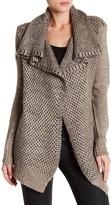 Love Stitch Dual Knit Shawl Cardigan