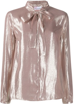 RED Valentino RED(V) metallic shirt