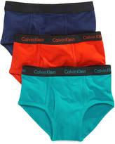 Calvin Klein 3-Pack Briefs, Little Boys (2-7) & Big Boys (8-20)