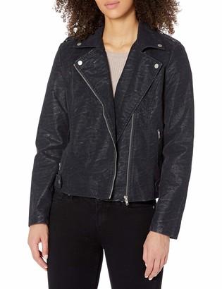 Tribal Women's Zip Front Moto Jacket