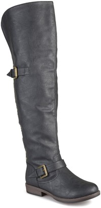 Journee Collection Kane Studded Tall Boot