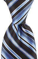 Roundtree & Yorke Trademark Combo Stripe Traditional Silk Tie