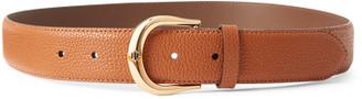 Ralph Lauren Pebbled Leather Belt
