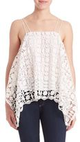 Nicholas Mosaic Lace Square Panel Cami