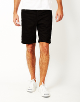ONLY & SONS Avi Loom Denim Shorts Black