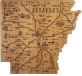 Totally Bamboo Destination Arkansas Cutting/Serving Board