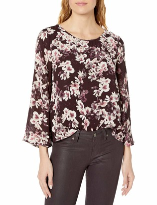 Cupcakes And Cashmere Women's Jerrin Printed Top