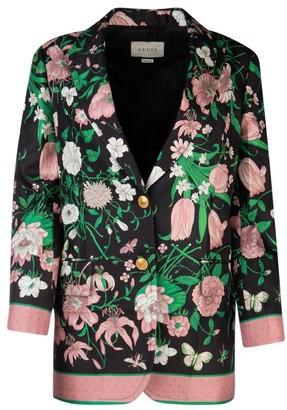 Gucci Flora Printed Jacket