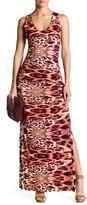Sky Vesty Crochet Back Maxi Dress