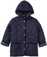 Jo-Jo JoJo Maman Bebe Quilted Jacket (Toddler/Kid) - Navy-4-5 Years
