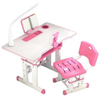 """Isabelle & MaxTM Sydnie Children's Study 27.56"""" Writing Desk and Chair Set Isabelle & Max"""