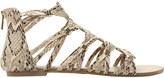 Steve Madden Cretee braided Gladiator ankle sandals
