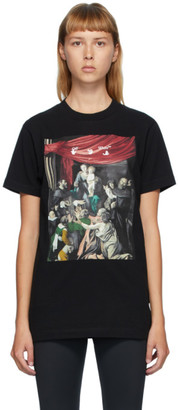 Off-White Black Caravaggio Painting T-Shirt