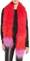Jocelyn Genuine Tibetan Lamb Fur Scarf