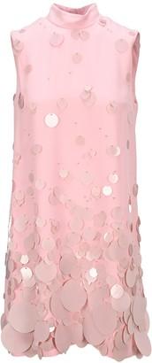 Prada High Neck Sleeveless Sequin Dress