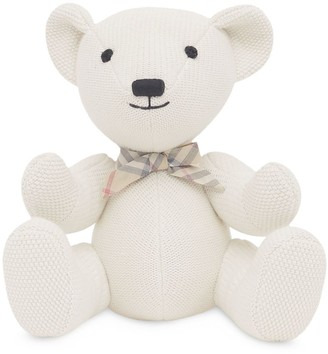 BURBERRY KIDS Cotton Cashmere Thomas Bear