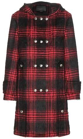 Alexander Wang Buffalo cotton-blend duffle coat