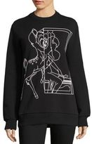 Givenchy Outlined Bambi Sweatshirt