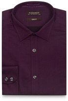 St George By Duffer Purple Sateen Shirt With Extra-long Sleeves And Body