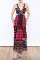 Anna Sui Cutout Maxi Dress