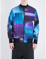 Y3 Graphic-print Shell Bomber Jacket