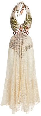 PatBO Palmeira Print Midi Dress