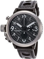 U-Boat 1840 Men's Flightdeck Automatic/Mechanical Chronograph Black Carbon