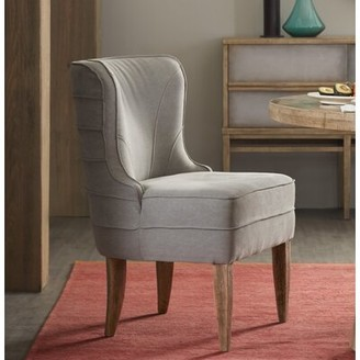 Hooker Furniture Urban Elevation Upholstered Dining Chair in Gray (Set of 2