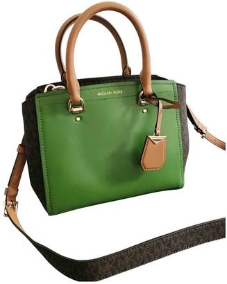 Michael Kors Green Leather Handbags