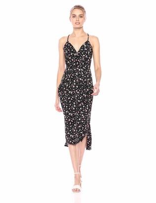 BCBGeneration Women's Cocktail Drapey Pocket Knit Dress