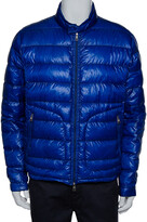 Thumbnail for your product : Moncler Blue Synthetic Quilted Acorus Jacket XXL