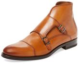 Antonio Maurizi Cap-Toe Double Monkstrap Boot