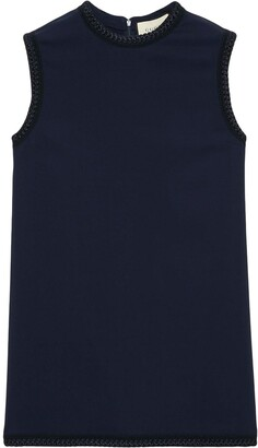 Gucci Ribbon-Trimmed Tank Top