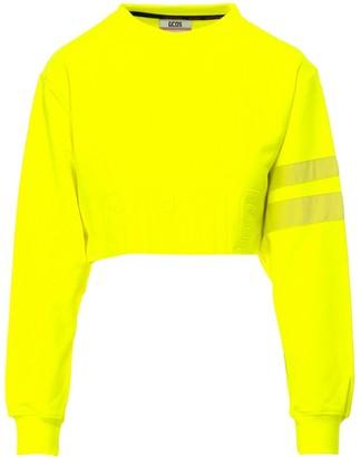 GCDS Cropped Crewneck Sweatshirt