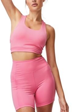 Cotton On Women's Lifestyle Pocket Bike Shorts