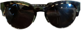 Stella McCartney Green Plastic Sunglasses