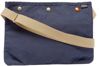 Porter-Yoshida & Co Coppi Canvas Cross-body Bag - Navy Multi